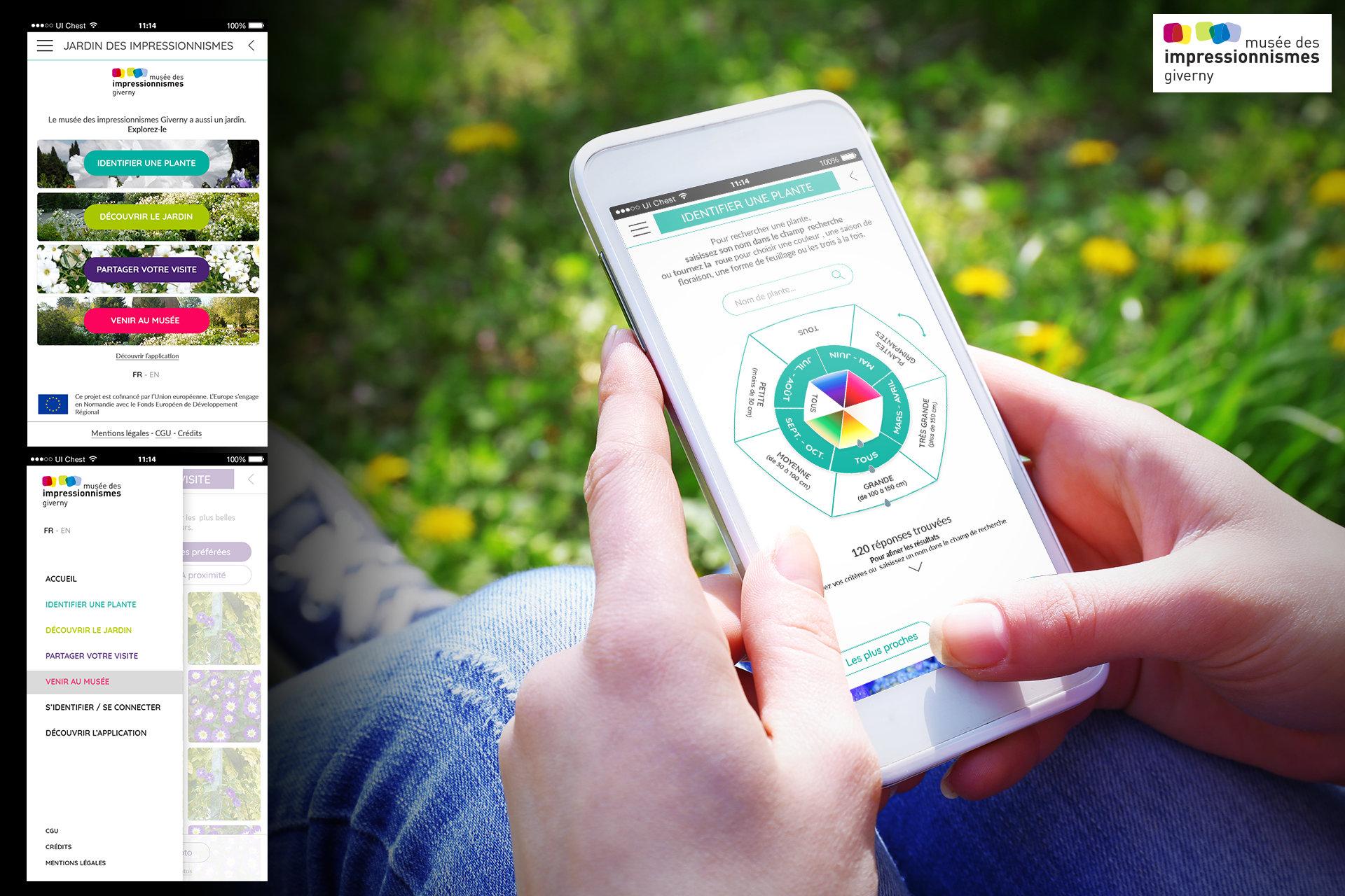 Design application mobile - Agence web Vaucluse