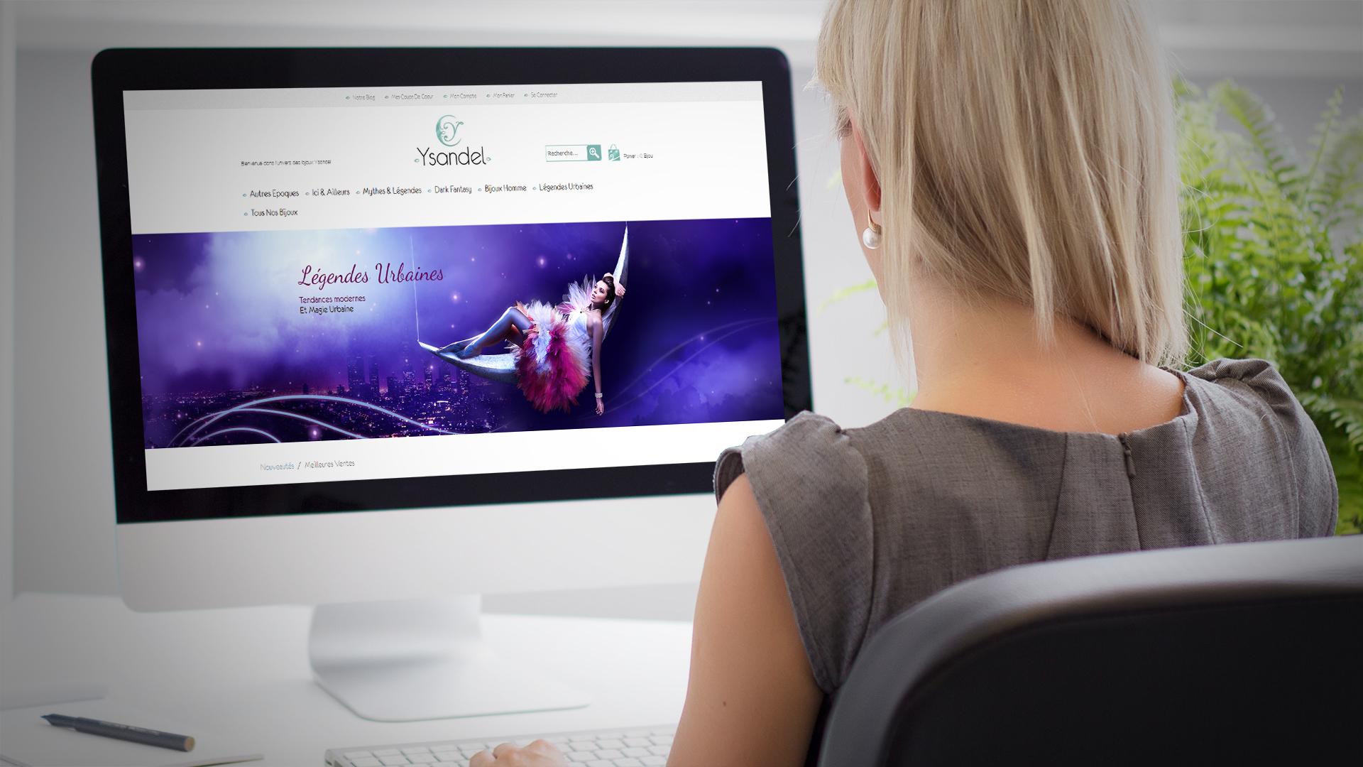 Création site internet Ysandel à Avignon