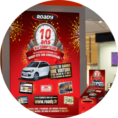 Supports imprimés - print - affiche - presse - flyer - packaging