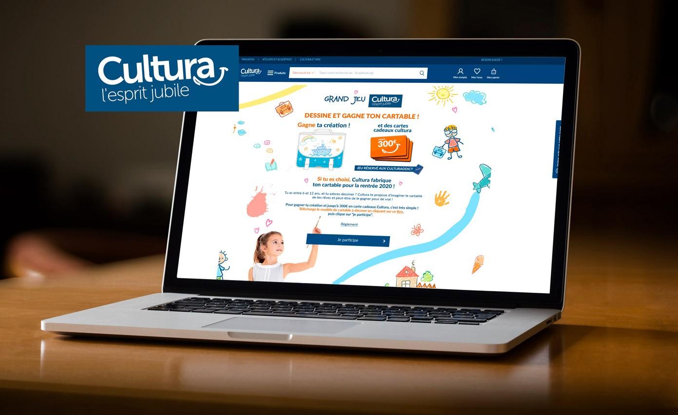 Concours photo Cultura.com - home