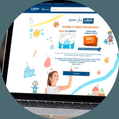 Création de jeu-concours Bordeaux Avignon Carpentras Orange