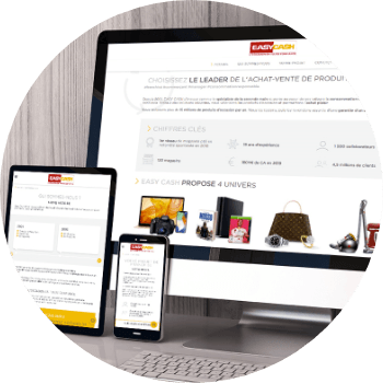 création site wordpress easy cash